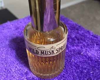 Vintage Wild Musk by Coty Pfizer