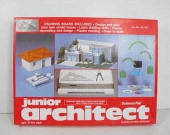 Jr. Architect Kit Science Fair Plan Construct Design and Build   (1148)