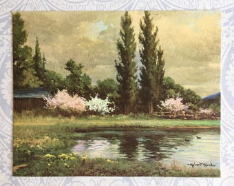 Spring Eternal by Robert Wood Lithograph / Winde Fine Prints / No. 319 / 8 x 10