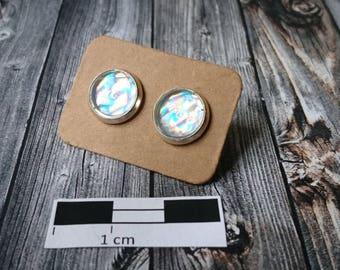 Rainbow earrings (145) - resin/resin