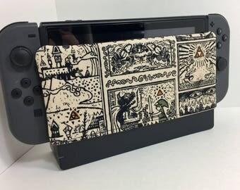 Nintendo Switch Dock Sock- Zelda comics