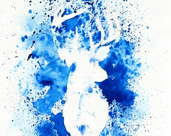 HARRY POTTER - PATRONUS - A4 Art Print