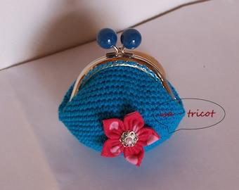 retro purse crochet