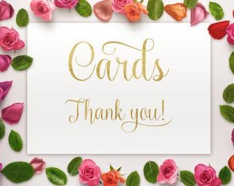 Cards box sign, Wedding cards box sign, wedding sign, wedding decor, card box, wedding reception, wedding printable, wedding cards sign