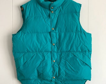 L.L. Bean Goose Down Men's Puffer Vest Size Large