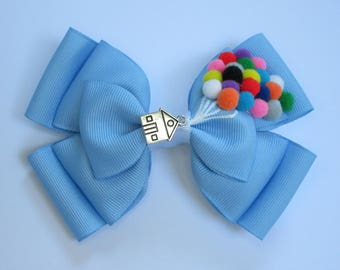 Up Balloons Inspired Disney Hair Bow