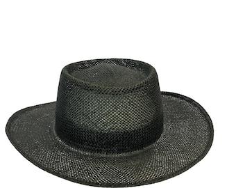 Vintage Genuine Town Talk Louisville Kentucky Panama Hat OS