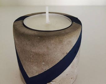 Cement Candle Holder, Concrete Candle Holder
