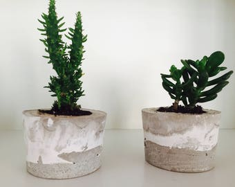 Concrete Planter, Cement Planter, Cement Pot, Concrete Pot
