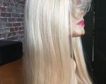 Blonde Human Hair Lace Wig