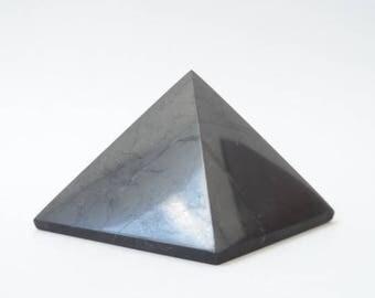 Shungite Shungit Pyramid 40mm Electromagnetic Protection