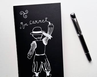 Carnet noir, mon carnet, breton
