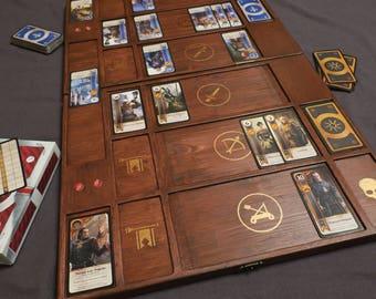 Witcher 3: Wild Hunt - Wooden Gwent Board