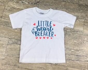 Little Heart Breaker- Valentine's Day Shirt - Kid's Tee