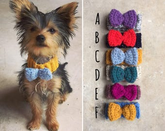 The doggie bow tie. Uk seller. Choose your size and colour.
