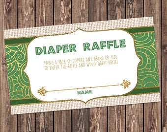 print raffle tickets at home