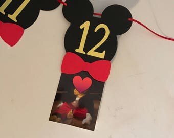 First Year Photo Birthday Banner