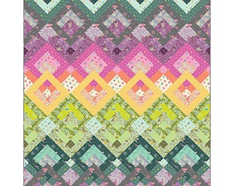 NEW Aura Quilt Kit featuring Spirit Animal by Tula Pink