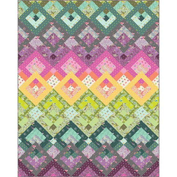 NEW Aura Quilt Kit featuring Spirit Animal by Tula Pink : tula pink quilt kits - Adamdwight.com