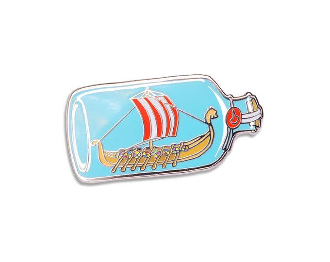 Viking Ship Pin
