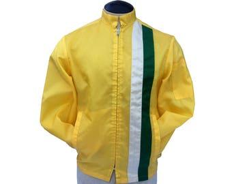 Vintage Racing Jacket Mens Large Swingster By Bonner