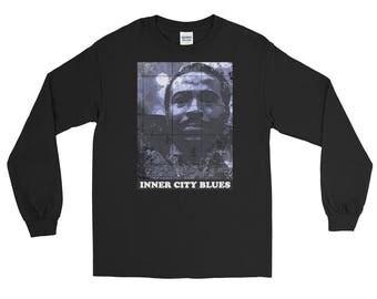 Marvin Gaye Inner City Blues Soul Long Sleeve T-Shirt