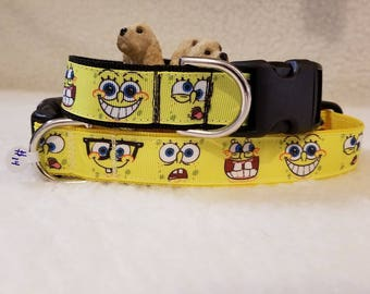 Bob Handmade Dog Collar 1 Inch Wide Large or Medium