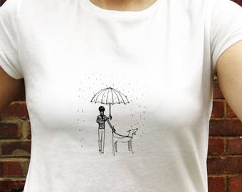 Dog t-shirt, Screenprinted dog tee, Dog Tshirt, Dog shirt, Dog top, Screenprinted, Screen print, Dog present, Dog gift, Dog Tee, Doggo,