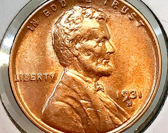 1931 D Lincoln Wheat Cents - Gem BU / MS RD / Unc