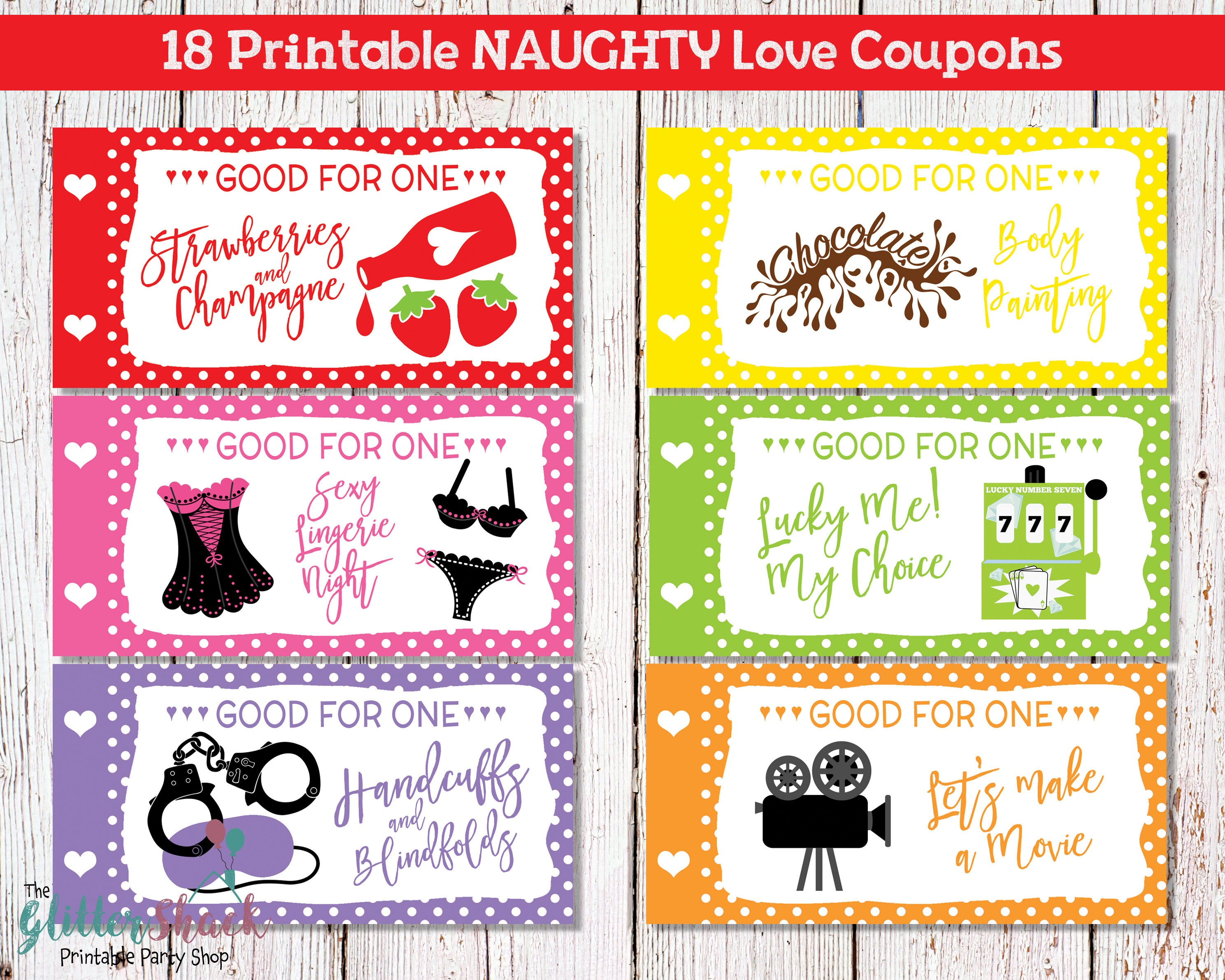 Cute love coupons for her