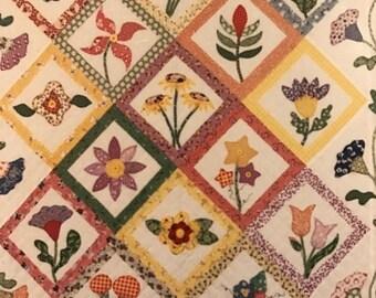 PRE-SUMMERSALE Simple Pleasures Auntie's Garden quilting pattern