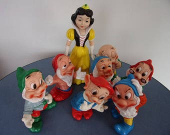Walt Disney snow white and the 7 dwarfs, made by Ledra
