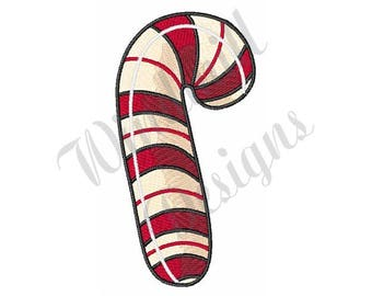 Candy Cane - Machine Embroidery Design