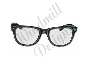 Glasses - Machine Embroidery Design