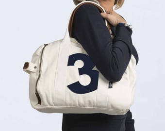 Christmas gift for wife - bag personalized with your number lucky - Christmas gift woman