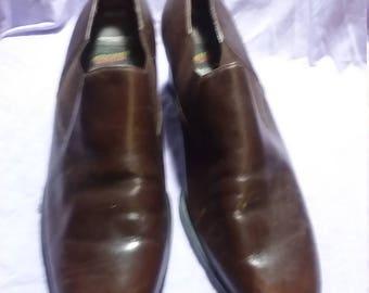 Aerosoles women's vintage heels shoes leather brown