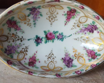 Vintage Hand Painted Dish