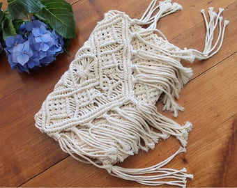 SHOWROOM MAS - Accessories pouch in macrame