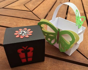 Learn to Scan'n Cut Kit - Papercraft 2 Pack Gift Boxes