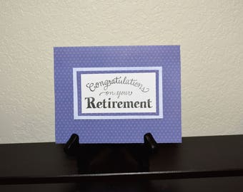 Retirement card, Congratulations on Your Retirement