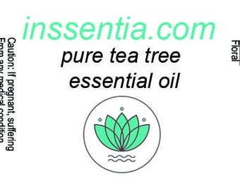 inssentia 100% pure tea tree essential oil