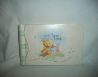 Vintage Disney Winnie the Pooh Baby Brag Book, 4 x 6