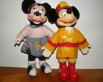 Mickey and Minnie Dolls by Applause