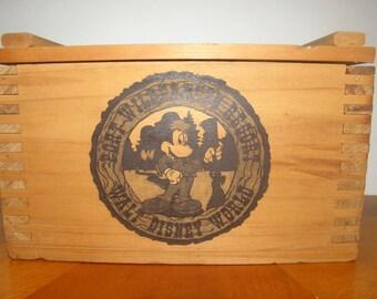 Fort Wilderness Resort Wooden Box