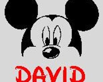 Disney Inspired Mickey Mouse Peeking Boys Shirt