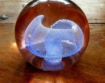 Edward Kachurik Art Glass Paperweight, Ed Kachurik Art, Glass Art Paperweights, Edward Kachurik
