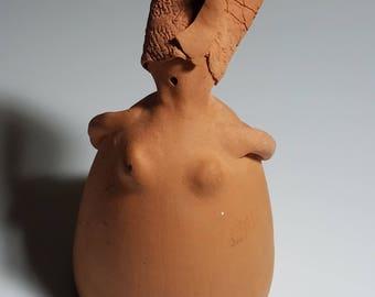 Studio Art Pottery Gordita Figurine, Art Pottery, Gordita Figurine, Studio Pottery, Vintage Pottery, Art Pottery