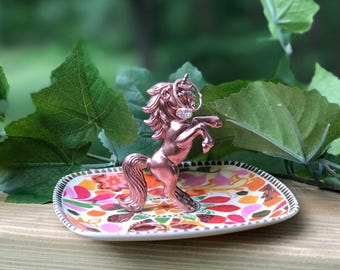 Unicorn Ring Holder, Unicorn Jewelry Holder, Catch All, Jewelry Dish, Home Decor