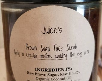 Juice's Brown Suga and Turmeric Face and Body Healing Scrub