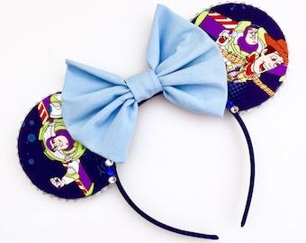 The Moving Buddies - Handmade Mouse Ears Headband
